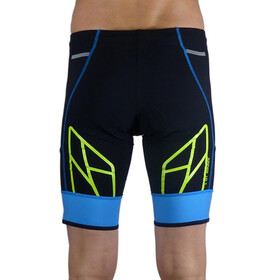 KiWAMi Spider Shorts Unisex black/blue/lime